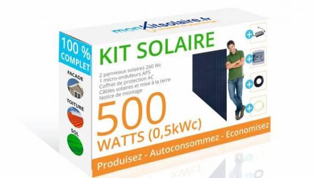 mon kit solaire veut d mocratiser l acc s l autoconsommation lectrique environnement magazine. Black Bedroom Furniture Sets. Home Design Ideas